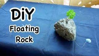 How to: Floating Rock | DiY Floating Rock *DiY Floating Rock Island For Aquarium*