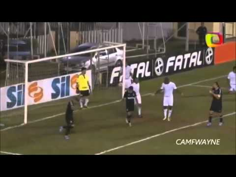 Epic Classic Funny Football Goal Miss Fail in Brasil at Soccer