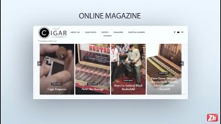 The first Cigar News - Online Magazine - In Balkan