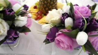 Оформление свадьбы в сиреневом цвете, Ажур-Стиль, Минск. www.azur.by