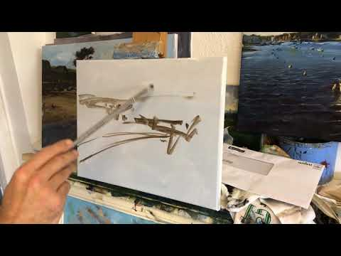 Landscape Painting Demonstration in Oils (Full length!)