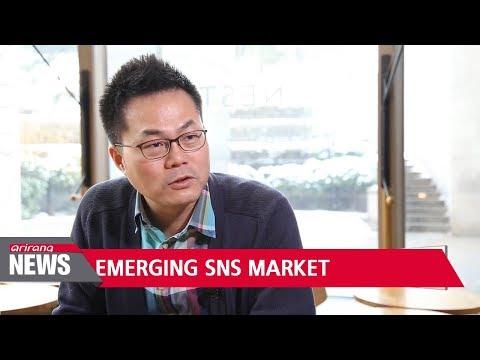 Emerging SNS market in South Korea