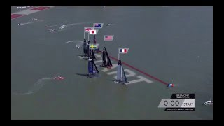 America's Cup World Series Race 3 Start - New York - May 2016