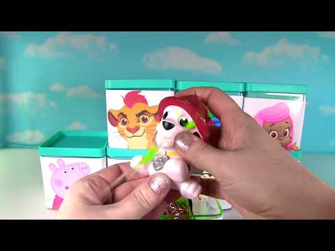 Huge Paw Patrol & Nick Disney Jr Blind Box Toy Surprise Show! Peppa, Bubble Guppies & Mickey