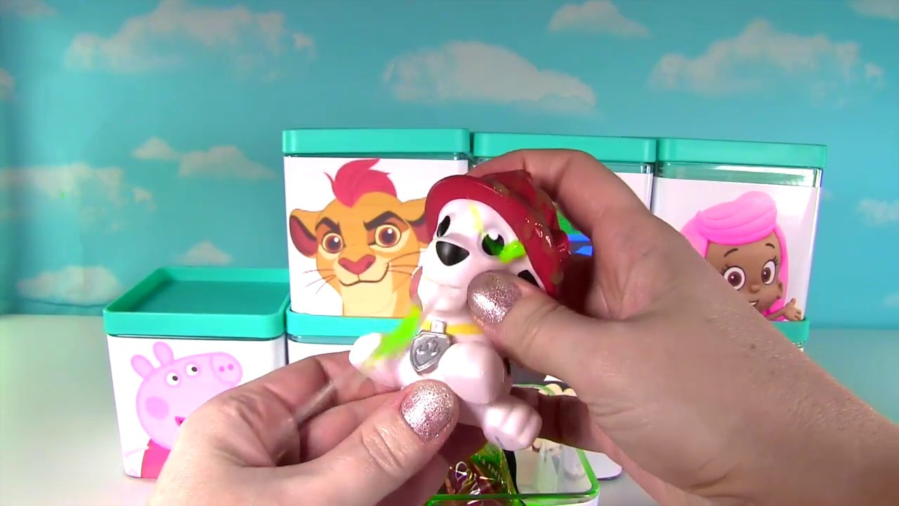 Huge Paw Patrol Amp Nick Disney Jr Blind Box Toy Surprise