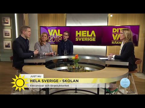 """""""Ironiskt att Finland tittade på svenska skola förr i tiden"""" - Nyhetsmorgon (TV4)"""