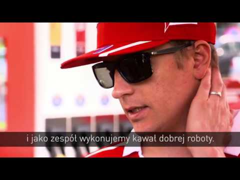 Kimi Räikkönen interview at Shell Event in Warsaw
