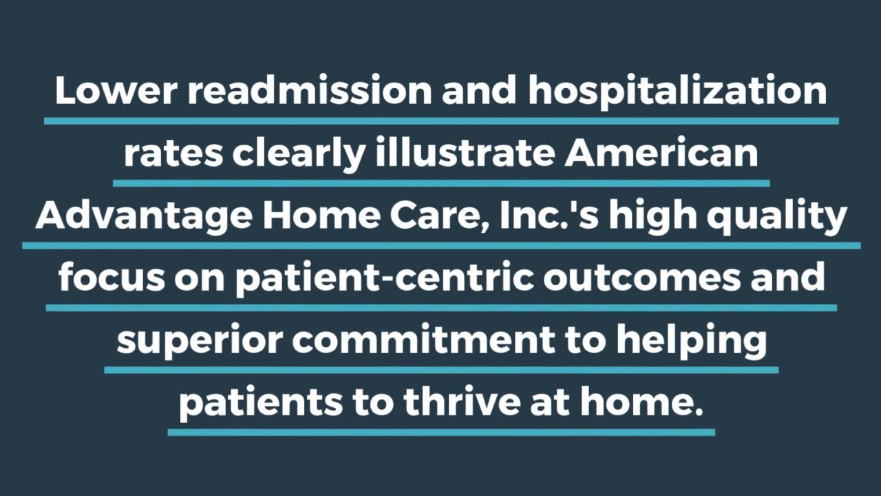 American Advantage Home Care, Inc. - LOWER READMISSION AND HOSPITALIZATION RATES IN MICHIGAN
