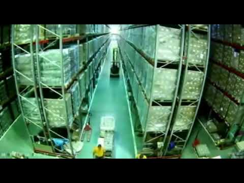 Racking Collapse In Warehouse