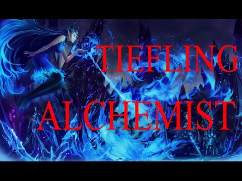 Pathfinder Tiefling Alchemist Build