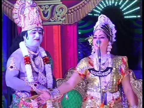 JP act Krishna in kurukshethra drama