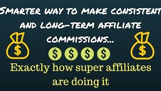 CB Affiliate Marketing - Smarter way to make consistent and lo…