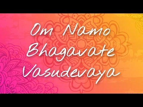 Om Namo Bhagavate Vasudevaya | The Art of Living Sacred Mantras & Chants | A Must Listen
