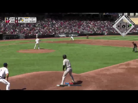 MLB the Show 17 Ep8 RF Frank D Tank with the White Sox Rookie year continues