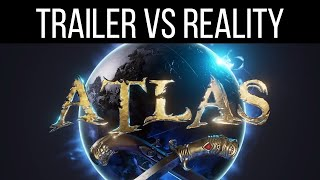 ATLAS: TRAILER VS REALITY. (SUSCRIBIRSE PA MÁS GENTE🤗)