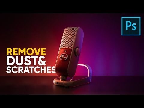 Remove Dust & Scratches from Products in Photoshop