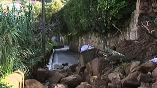 Muro de propriedade de Vale e Azevedo ruiu e fecha estrada