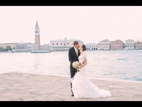 Wedding in St Mark's Basilica, Venice, Italy