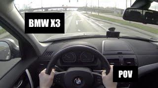 2010 BMW X3 E83 2.0d X-Drive POV Test Drive