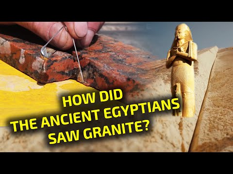 Ancient Egyptian Granite Sawing Technology: reconstruction