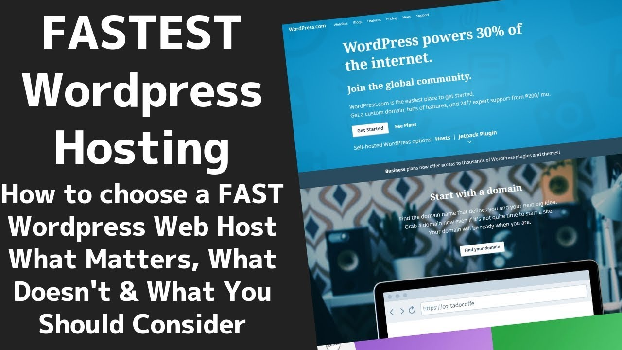 The FASTEST (and BEST!) Wordpress Hosting (Updated For 2019!) ⚡