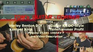 Harley Benton Guitar Kit DC-Style & Kemper Amp (TGC)