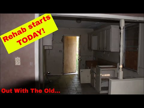 Rental Property Rehab Starts Today!  Real Estate Investing