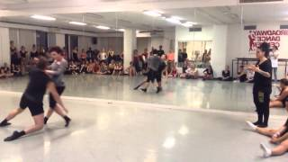 Sonya Tayeh class at Broadway Dance Center