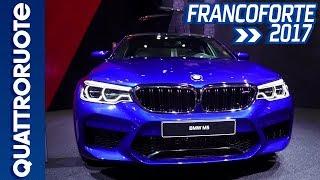 BMW M5: la sesta generazione al Salone di Francoforte 2017 | Quattroruote
