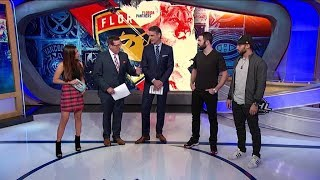 NHL Now:  Yandle and Trocheck swing by the NHL studio  Oct 26,  2018