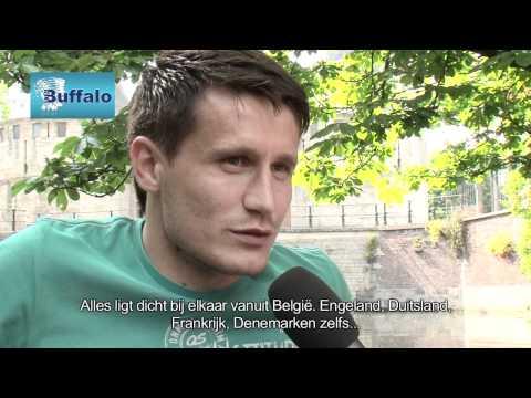 Mario Baric, de 26 jarige Kroaat ging mee met ons de Gentse wateren op.