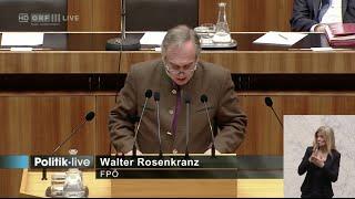 Walter Rosenkranz - Haus der Geschichte (Bundesmuseen-Gesetz) - 17.3.2016