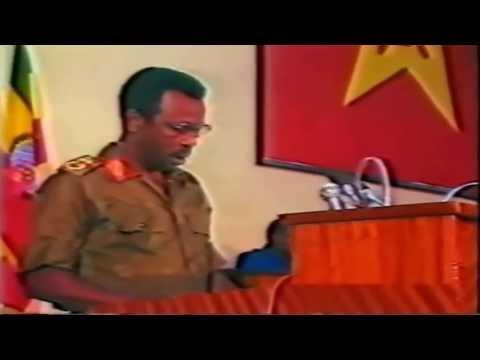 Col. Mengistu Haile Mariam  Powerful speech - DVD Quality