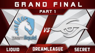 Liquid vs Secret [EPIC] Grand Final DreamLeague 8 Major 2017 Highlights Dota 2 - Part 1