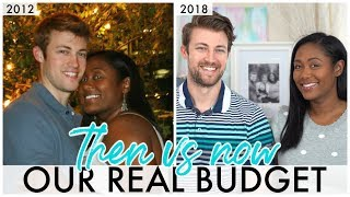Our Family Budget Real Numbers October 2018 vs October 2012