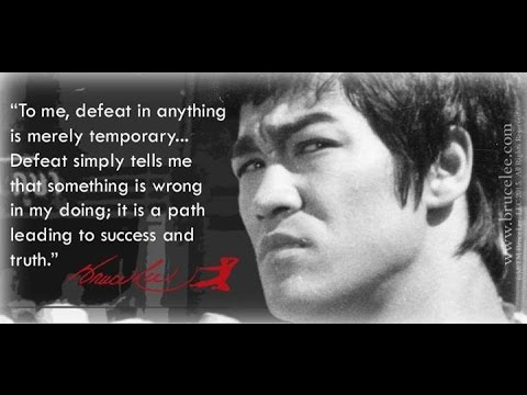 Practical Dreamers Never Quit- Bruce Lee