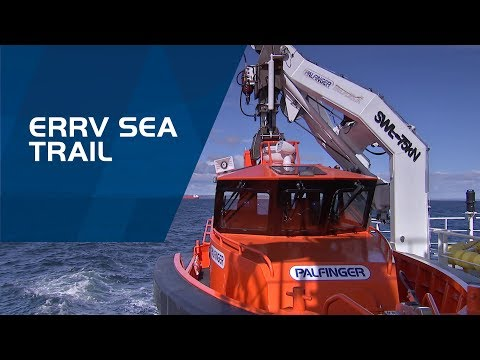 PALFINGER MARINE -  Boats and Davits – ERRV Sea trail