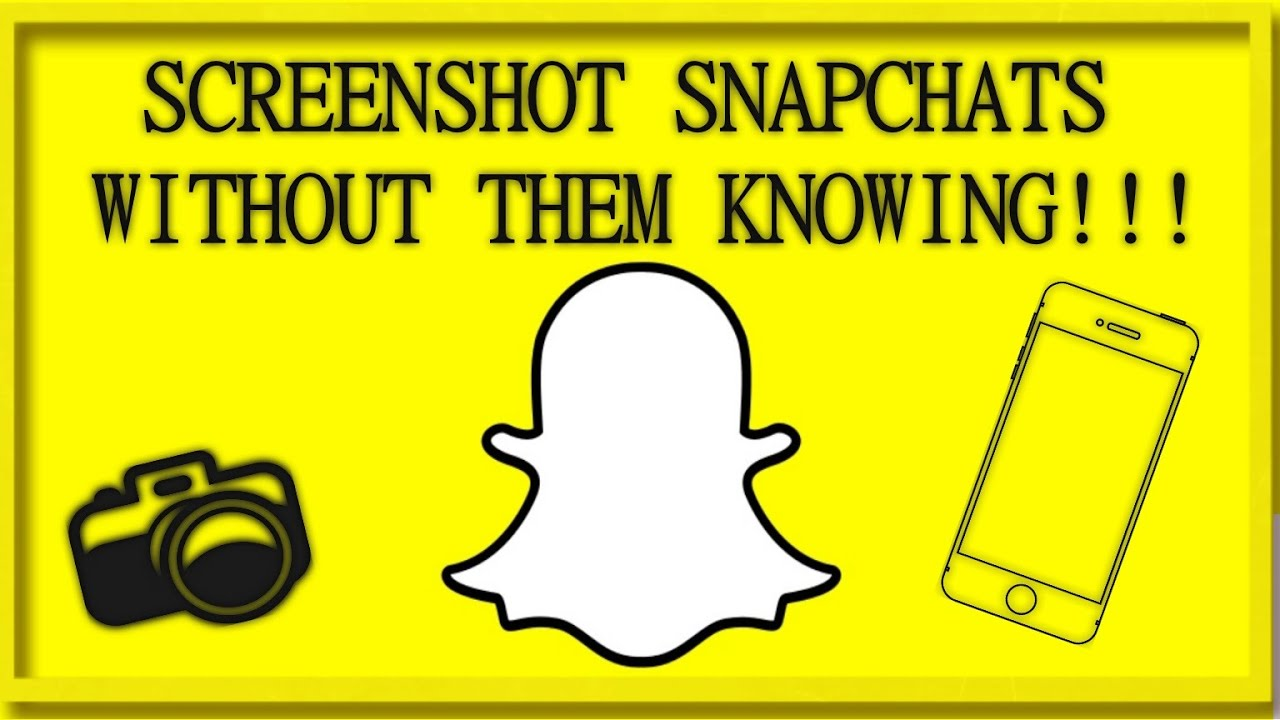How to screenshot on Snapchat without them knowing iPhone X