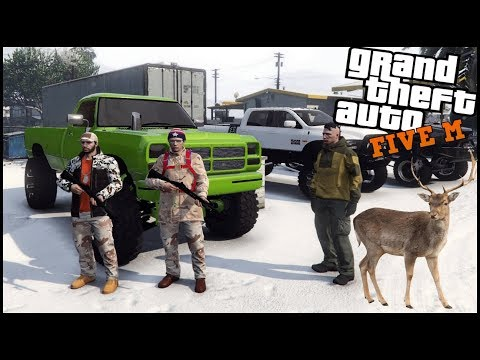 GTA 5 ROLEPLAY - GOING ON A HUNTING TRIP!  - EP. 541 - CIV
