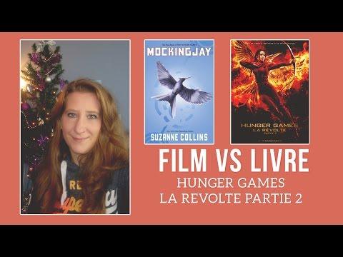 ↨ Film Vs Livre : Hunger Games Mockingjay / La révolte Partie 2 ↨ poster