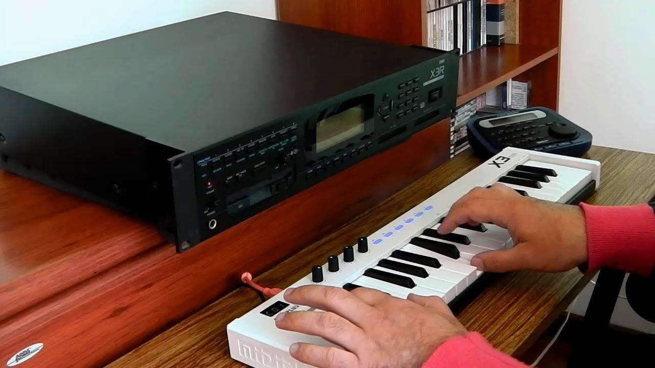 Korg X3R Midiplus X3 mini Claroscuro Part1 — MyVideo