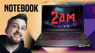 Notebook 2AM gaming linhas Performance, Challenger e Extreme para jogos