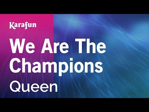Karaoke We Are The Champions - Queen *