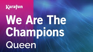 Karaoke We Are The Champions - Queen *