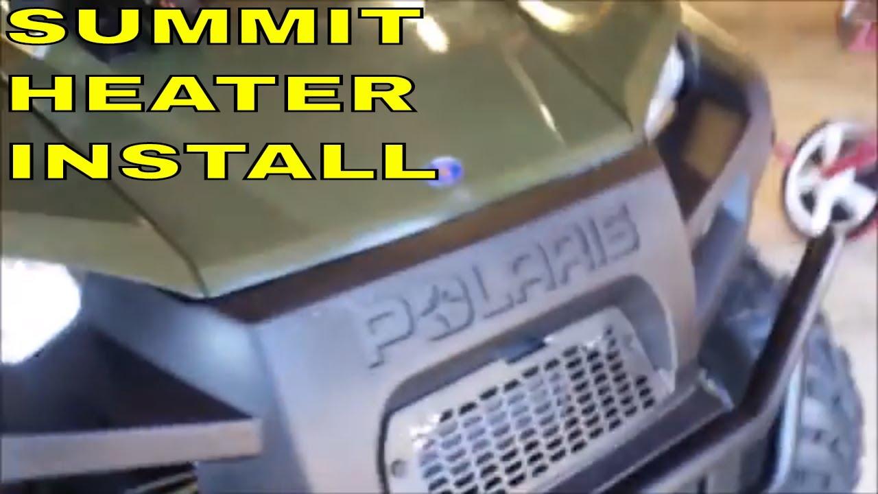 Polaris Ranger Heater Install Part 1