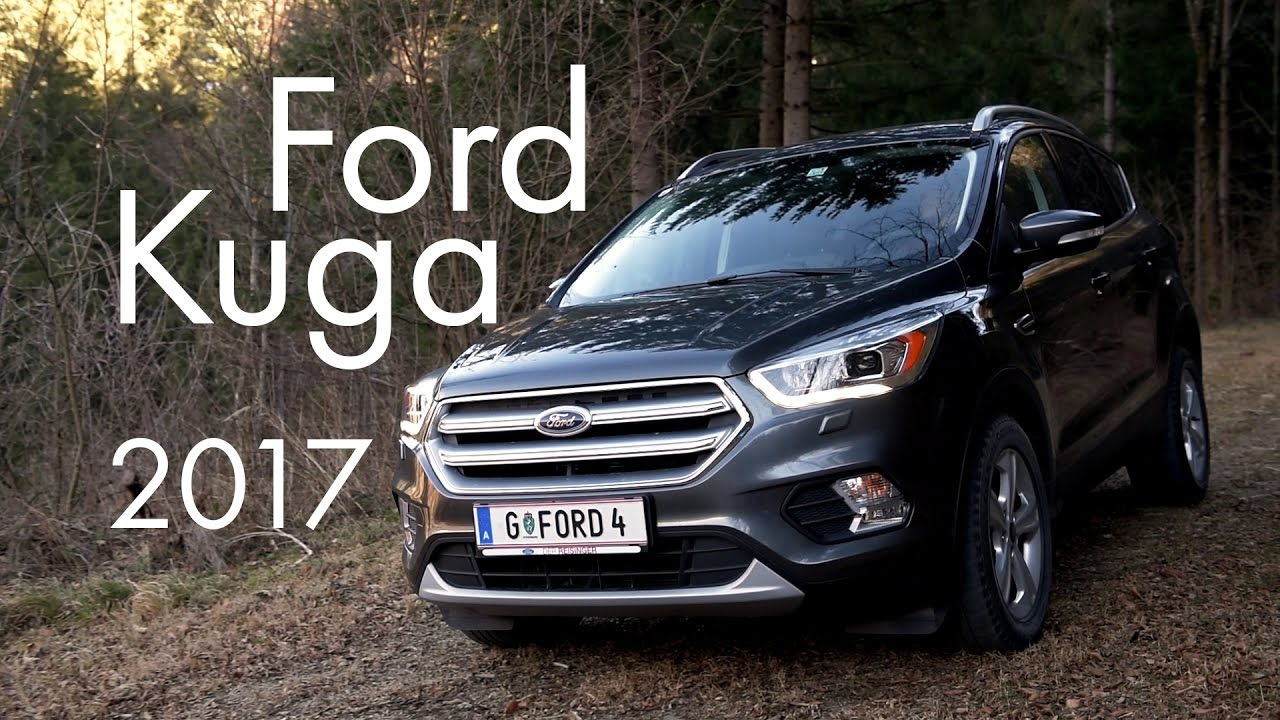 2017 ford kuga titanium 1 5l 120m6 youtube. Black Bedroom Furniture Sets. Home Design Ideas