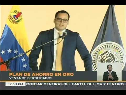 Banco Central de Venezuela: Encaje legal bancario será llevado al 100% de depósitos