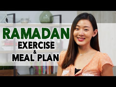 RAMADAN Exercise & Healthy Meal Plan to Lose Weight   Joanna Soh