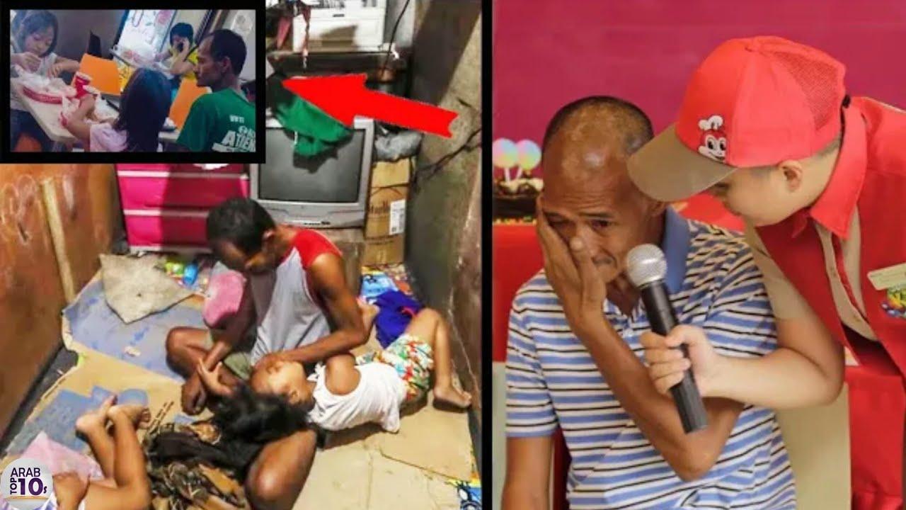امرأة تهجر زوجها المعاق وأطفالها، ولكن هذه الصورة غيرت كل شئ إلى الأبد!