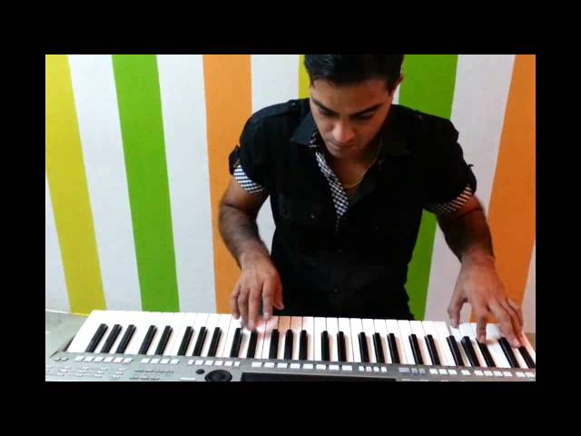 Dil Tu Hi Bata Krrish 3 on Yamaha Keyboard PSR S910 Travel Video